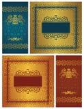 Set of vintage frames Royalty Free Stock Photo