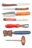 Set of vintage kitchen utensils Royalty Free Stock Photography
