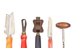 Set of vintage kitchen utensils Royalty Free Stock Image