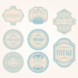 Set of vintage label
