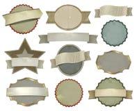 Set of vintage labels Royalty Free Stock Image