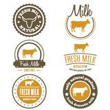 Set of vintage labels, logo, emblem templates for Royalty Free Stock Image