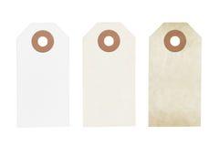 Set of vintage labels Stock Images