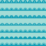 Set of vintage lace borders. Royalty Free Stock Images