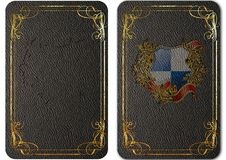 Set of vintage leather covers for books. 04 Royalty Free Stock Photos