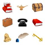 Set of vintage objects Stock Photos