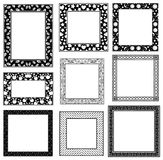 Set of vintage ornamental frames.Vector Royalty Free Stock Photo