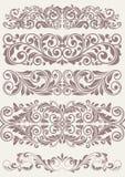 Set vintage ornate borders. This is file of EPS10 format vector illustration