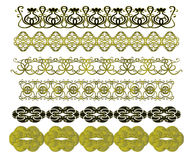 Set of vintage patterns Royalty Free Stock Images