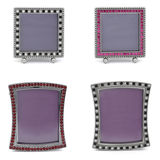 Set of vintage photo frames Royalty Free Stock Images