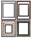 Set of Vintage picture frame Stock Photography