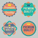 Set of Vintage Retro Badge Stock Photos