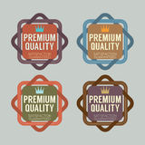 Set of Vintage Retro Badge Stock Photography
