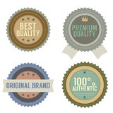 Set of Vintage Retro Badge Stock Photo