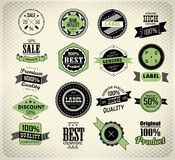Set of vintage retro label Royalty Free Stock Photography