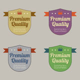 Set of Vintage Retro Labels Royalty Free Stock Photography