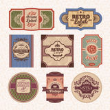 Vintage style frames Royalty Free Stock Images
