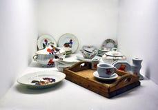 Set of vintage toys stock photography