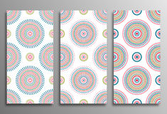 Set vintage universal different seamless eastern patterns (tilin Royalty Free Stock Images