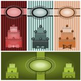 Set of vintages royalty free illustration