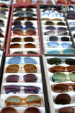 Set of vintave sunglasses Royalty Free Stock Photos