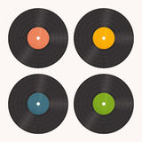 Set Vinyl Royalty Free Stock Images