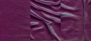Set of violet leather textures Royalty Free Stock Photos