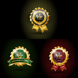 Set vip with three color Royalty Free Stock Images