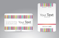 Set of visit cards for your business. Vector Royalty Free Stock Image