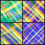Set von 12 abstrakten Hintergründen. Stockbilder