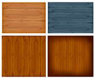 Set with wall panels. Vector Royalty Free Stock Photos