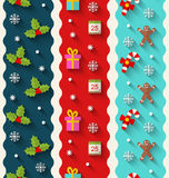 Set Wallpaper for Christmas and Happy New Year Stock Photos