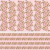 Set of wallpaper patterns Royalty Free Stock Images