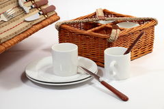 Set of ware for picnic Royalty Free Stock Images