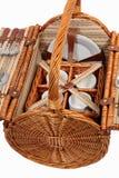 Set Waren für Picknick Lizenzfreie Stockfotografie