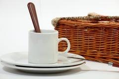 Set Waren für Picknick Lizenzfreie Stockbilder