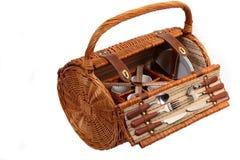 Set Waren für Picknick Lizenzfreie Stockfotos