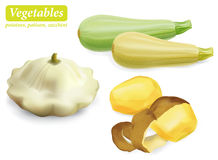 Set warzywa Zdjęcie Stock