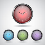 Set watch icon Stock Image