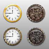 Set of watch icons Stock Photography