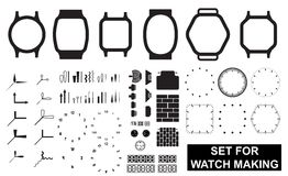 Set for watch making Stock Photo