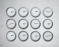Set of watches Royalty Free Stock Image