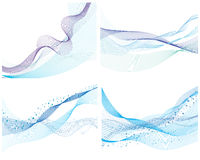 Set of water background Stock Images