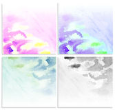 Set water color . Royalty Free Stock Images
