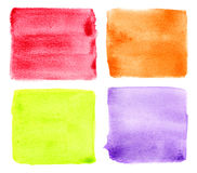 Set of water color background Royalty Free Stock Image