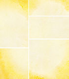 Set of watercolor background Stock Photos