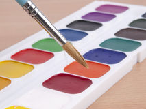 Set of watercolors Royalty Free Stock Images