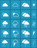 Set of weather icon Royalty Free Stock Photography