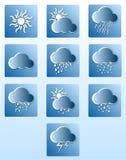 Set weather icons.Vector Stock Photos