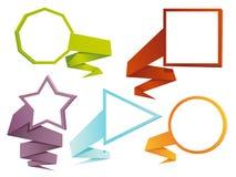 Set of web banners Stock Image